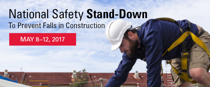 National Fall Prevention Safety Stand‐Down