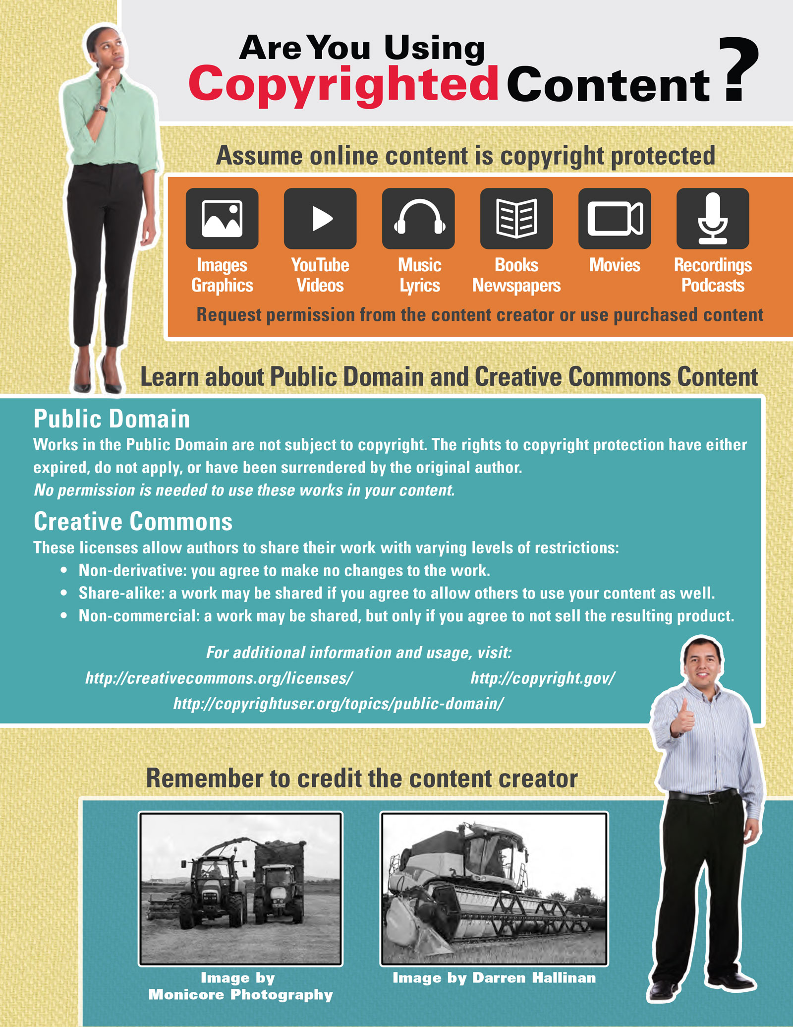 can i use someone else\u0027s work in my content? nc state industry African Infographic copyright infographic idteam