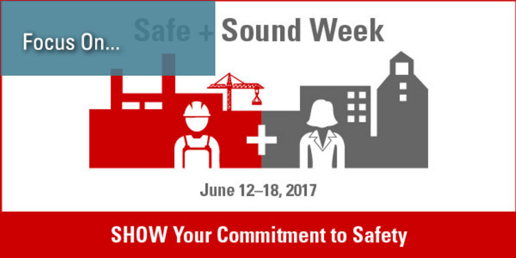 Focus On… Safe + Sound Week