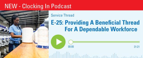 E-25-Providing A Beneficial Thread For A Dependable Workforce Banner